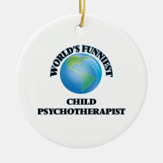 El psicoterapeuta más divertido del niño del mundo ornamentos de reyes magos