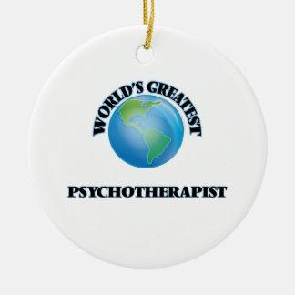 El psicoterapeuta más grande del mundo adornos de navidad