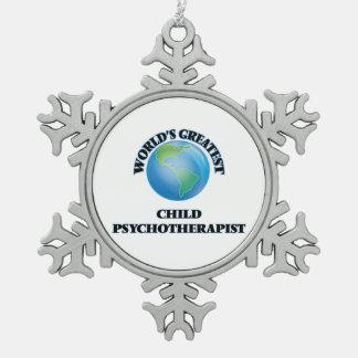 El psicoterapeuta más grande del niño del mundo adornos