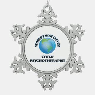 El psicoterapeuta más listo del niño del mundo adornos