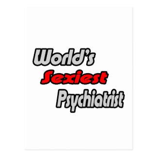 El psiquiatra más atractivo del mundo tarjetas postales