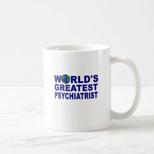 El psiquiatra más grande del mundo taza clásica