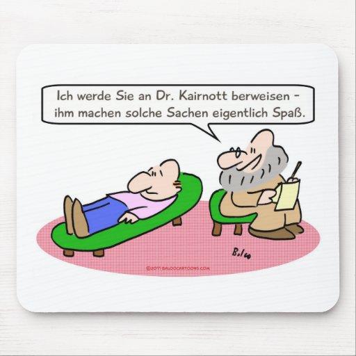 el psiquiatra se refiere goza de transla del alemá tapete de ratón