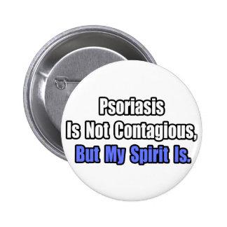 El psoriasis no es contagioso. pin