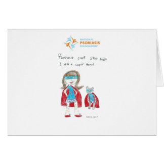 """El """"psoriasis no puede pararme """" tarjeta pequeña"""
