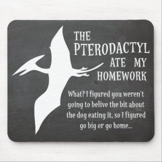 El Pterodactyl comió mi preparación Alfombrilla De Ratones
