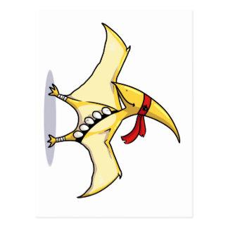 El Pterodactyl tiene huevos y sabe utilizarlos Postal