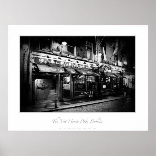El Pub de la casa de la cuba, Dublín Póster