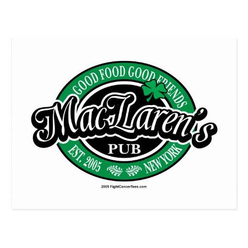El Pub de MacLaren Postal