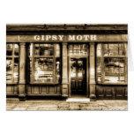 El Pub Greenwich de la polilla gitana Tarjeta