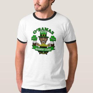 ¡El Pub irlandés 4 de Obama su fiesta social Camisas
