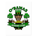 ¡El Pub irlandés 4 de Obama su fiesta social sigui Postal