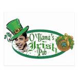 El Pub irlandés de Obama Postales