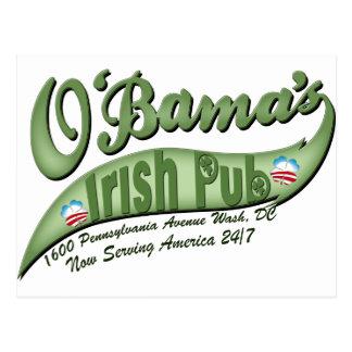 El Pub irlandés de O'bama Postal