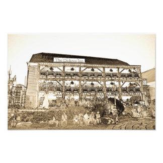 El Pub Londres del mesón de Dickens Cojinete