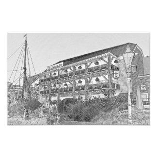 El Pub Londres del mesón de Dickens Fotografías