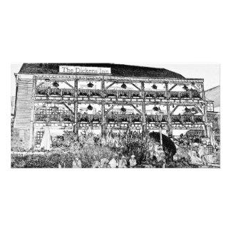 El Pub Londres del mesón de Dickens Tarjeta Fotografica