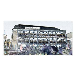 El Pub Londres del mesón de Dickens Tarjetas Fotográficas