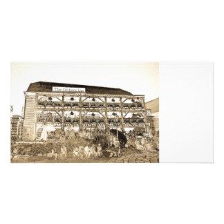 El Pub Londres del mesón de Dickens Tarjetas Con Fotos Personalizadas