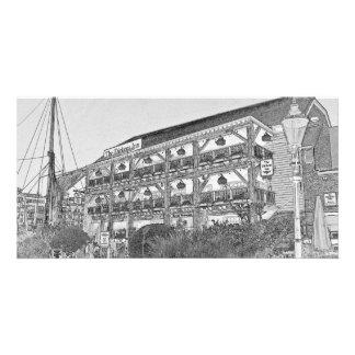 El Pub Londres del mesón de Dickens Tarjeta Fotografica Personalizada