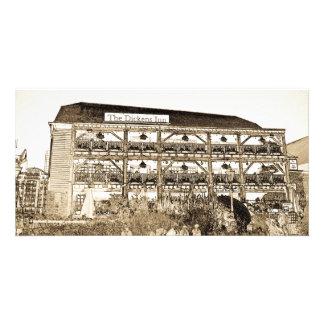 El Pub Londres del mesón de Dickens Tarjeta Fotográfica