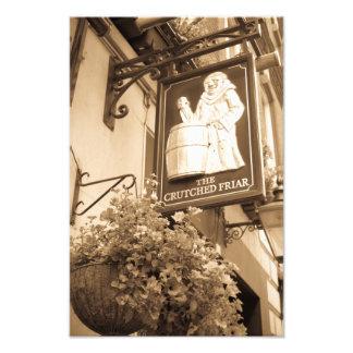 El pub sostenido Londres del fraile Fotografías
