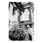 El pub sostenido Londres del fraile Postal