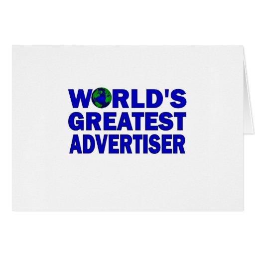 El publicista más grande del mundo felicitacion