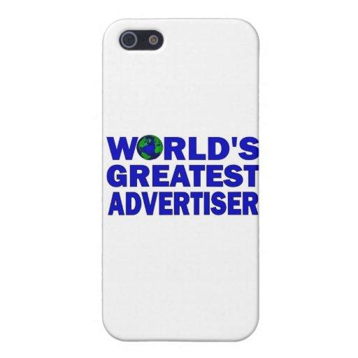El publicista más grande del mundo iPhone 5 fundas