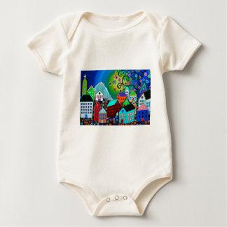 El Pueblo Baby Bodysuit