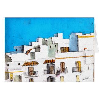 El Pueblo Blanco II Card