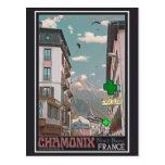 El pueblo de Chamonix - BonW Tarjeta Postal