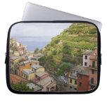 el pueblo de ladera de Manarola-Cinque Terre, Funda Computadora