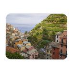 el pueblo de ladera de Manarola-Cinque Terre, Iman Flexible
