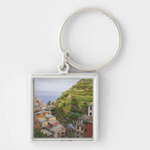 el pueblo de ladera de Manarola-Cinque Terre, Llaveros