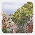 el pueblo de ladera de Manarola-Cinque Terre, Colcomania Cuadrada