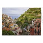 el pueblo de ladera de Manarola-Cinque Terre, Felicitación