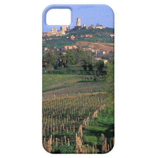El pueblo de San Gimignano se sienta en el balance iPhone 5 Carcasa