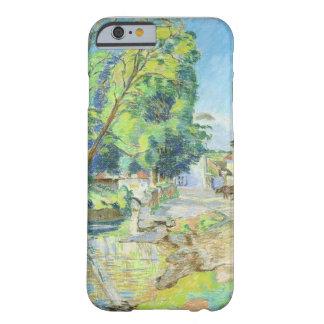 El pueblo (en colores pastel en el papel) funda de iPhone 6 barely there