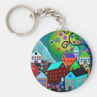 El Pueblo Keychain
