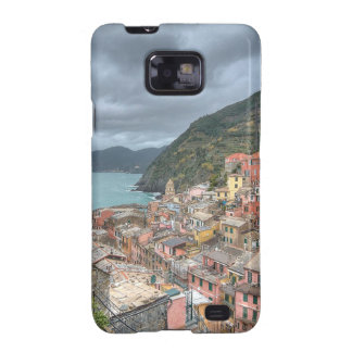 El pueblo pesquero de Vernazza, Cinque Terre, AIE Galaxy S2 Fundas