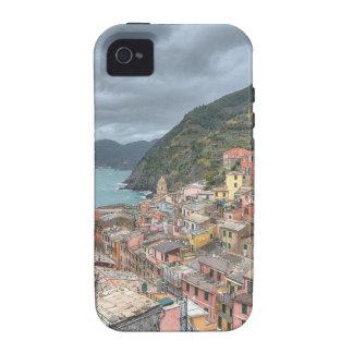 El pueblo pesquero de Vernazza, Cinque Terre, AIE iPhone 4 Funda