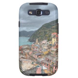 El pueblo pesquero de Vernazza, Cinque Terre, AIE Galaxy S3 Cárcasa
