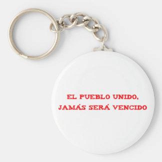 El pueblo UNIDO, jamas serums vencido Key Chains