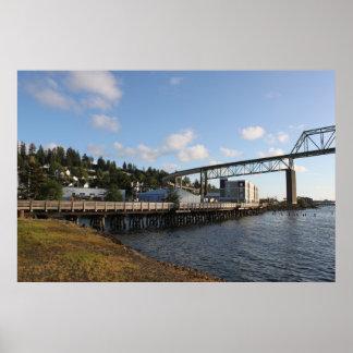 El puente de Astoria Megler Impresiones