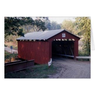 El puente de Bell construyó 1888 Tarjeta De Felicitación
