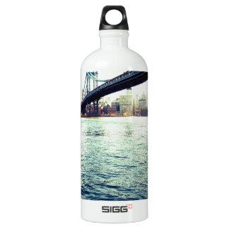 El puente de Brooklyn Botella De Agua