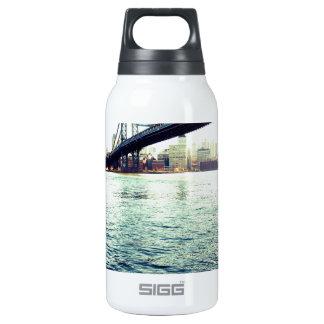 El puente de Brooklyn Botella Isotérmica De Agua