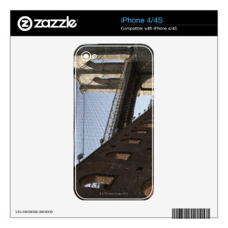 El puente de Brooklyn Calcomanías Para El iPhone 4S