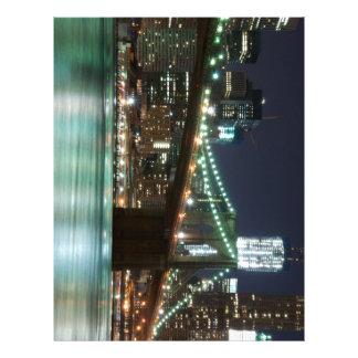 El puente de Brooklyn - color Membrete A Diseño